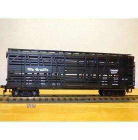 AHM  5275D, wagon à claire voies pour transport de bétail  Rio Drande D&RGW   neuf     BO