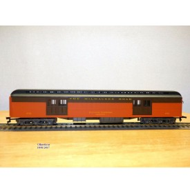 RIVAROSSI  6552,  fourgon à bagages ' ( heavyweight baggage )  N°:2712    Milwaukee Road