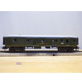MÄRKLIN   4017 . 8,  fourgon à bagages  allégé   SBB