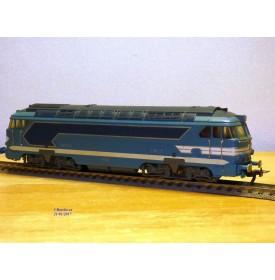 FLEISCHMANN 1386, loco diesel A1A A1A 68001   SNCF   BO