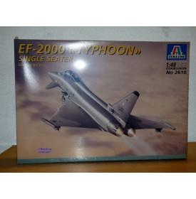 ITALERI 2610,  EF-2000  Typhoon    Neuf    BO   1/48
