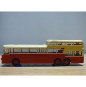 BREKINA 62013, original autobus à 1 1/2 étages  BÜSSING  Präsident    Neuf   BO  1/87