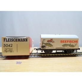 FLEISCHMANN 5042, wagon couvert type Hkqrs  KULMBACHER REICHELBRÄU   DB   neuf   BO