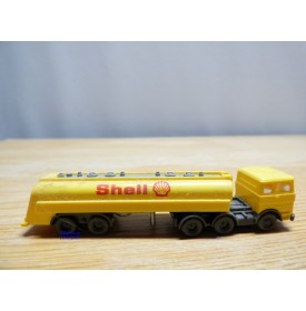 WIKING  9082, tracteur MERCEDES BENZ et  semi remorque citerne SHELL  neuf  BO   1/160   N