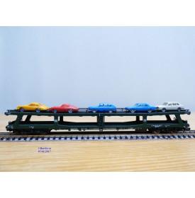 FLEISCHMANN  8284, wagon porte autos à 2 étages type DDm 915 DB  N