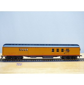 IHC  2373-1, fourgon à bagages  ( Heavyweight baggage RPO  REA )  Union Pacific  UP   neuf   BO