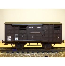 VB  24, wagon à bestiaux   type KKw   SNCF   BO