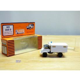 ROCO Minitanks 356 S, MERCEDES  UNIMOG  version ONU  Neuf    BO   1/87 HO