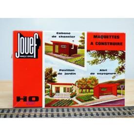 JOUEF  1973, cabane de chantier, pavillon de jardin, abri de voyageurs   neuf    BO