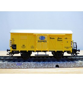 Märklin 48759,  wagon couvert  type Gr20  Bananen Hamelco   DB   neuf  BO