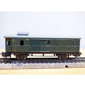 MÄRKLIN 4003 . 6, fourgon ancien à guérite  type Pwi  DB  neuf  BO