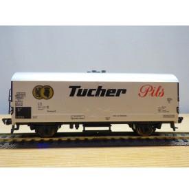FLEISCHMANN  5326,  wagon spécial pour bière type Ichqrss377 / Tmmehss50   Tucher Pilsneuf  DB  neuf   BO
