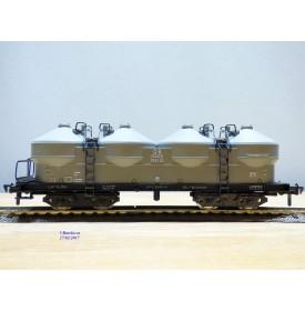 Fleischmann 1492,  wagon trémie silos à ciment  type Kkds 55   DB   neuf   BO