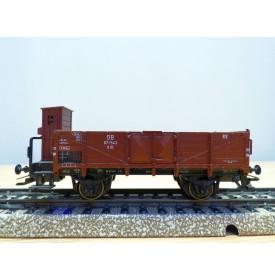 Märklin 4696,  wagon tombereau à guérite   type O 10   DB    Neuf   BO