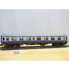 TRIX TWIN RAILWAY  TTR  1951, voiture à compartiments BR    N° M16171