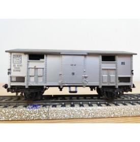 Märklin   4550, wagon couvert  gris   FS    BO