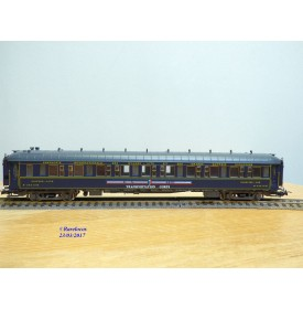 RIVAROSSI  véro 3525, voiture lit type Lx US ARMY Transportation Corps  N° 3531A   CIWL  neuf  BO CIWL    BO