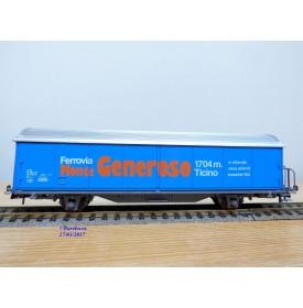 AKU ( Roco )  9005, wagon couvert  Hbis Monte Generoso   SBB      BO