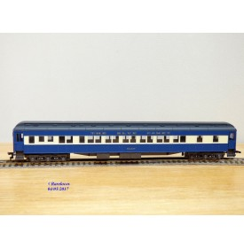 RIVAROSSI véro 2646, voiture Pullman Halley   The Blue Comet New Jersey Central  Neuf   BO