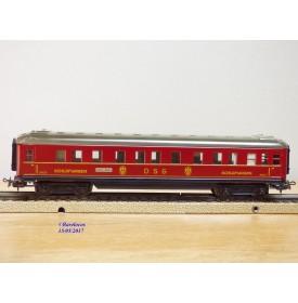 Märklin 346/ 3  (4010 ), voiture lits  (Schürzenwagen )  DSG