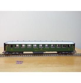 ROCO 44873, voiture grandes lignes métallique lorde à compartiments  type B   2 Kl.   SBB  neuf   BO