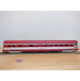 IHC  6812,  voiture lits  ( corrugated side roomette )  Georges G. VEST   FRISCO  SLSF   neuf    BO