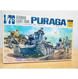 FUJIMI was150,  char  léger allemand PURAGA    Neuf  BO 1/76