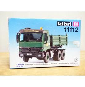 """KIBRI  """"echt """" 11112, Kit  camion  benne MERCEDES BENZ  Actros  4*6 Neuf  BO 1/87 HO"""