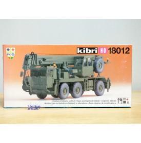 "KIBRI  ""echt "" 18012, Kit camion grue militaire LIEBHERR  LTM 1050/3   Neuf  BO  1/87 HO"