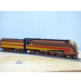 Overland Models ( OMI ) / Ajin 1558.1,  loco Mountain 4-8-2  ( 241 )   MT- 1  carénée  N¨: 7002  UNION PACIFIC  UP   BO
