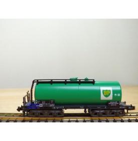 MINITRIX  51 3554,  wagon citerne à bogies  BP   DB   neuf  BO