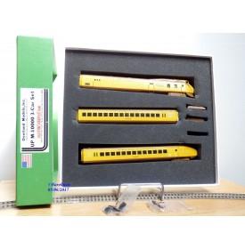 Overland Models ( OMI ) / Ajin 5197,  automoteur 3 éléments  :M- 10000  UNION PACIFIC  UP   BO