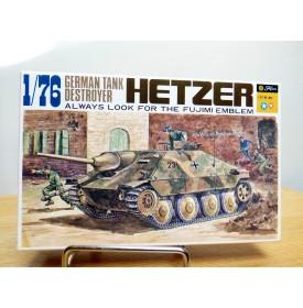 FUJIMI wa5,  char  chasseur de char  allemand  HETZER   Neuf   BO  1/76