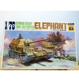 FUJIMI wa13,  char  chasseur de char  allemand  ELEPHANT   Neuf   BO  1/76