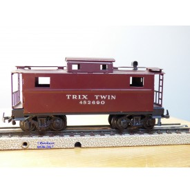 TRIX TWIN RAILWAY  TTR  690, fourgon de queue (  caboose  )  US    N° 482690