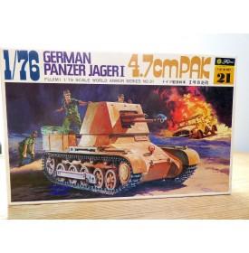 FUJIMI wa21,  char  chasseur de char  allemand   Panzer Jager 1 4.7cm PAK    Neuf  BO  1/76
