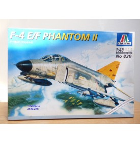 ITALERI 2613,  MAC DONNELL DOUGLAS F-4 E/F PHANTOM II    Neuf    BO   1/48