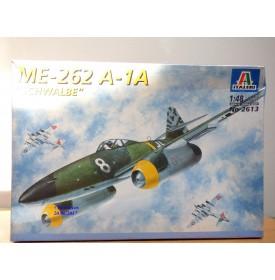 ITALERI 2613,  MESSERSCHMITT  ME-262 A-1A   Schwalbe  Neuf    BO   1/48