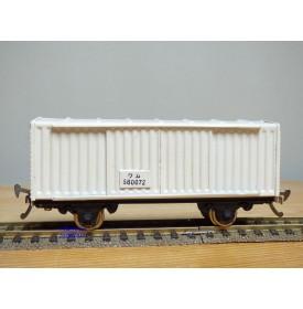 TER  ???, wagon couvert à portes coulissantes  N° : 580072  JNR   BO