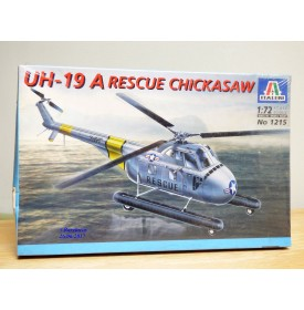 "ITALERI 1215, Hélicoptère  UH-19 A  ""Rescue Chickasaw""   Neuf   BO 1/72"