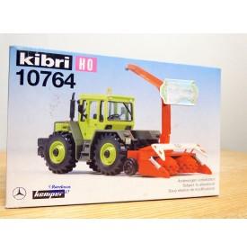 "KIBRI  ""echt "" 10764, Kit  MERCEDES BENZ TRAC et déchiqueteuse  KEMPER    Neuf   BO  1/87  HO"