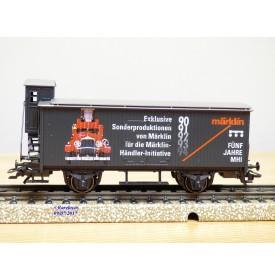 Märklin 94501 / 31979  4680,  wagon couvert  à guérite  MHI  neuf   BO