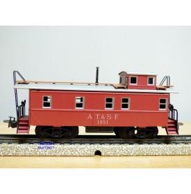 Märklin   4570 . 2,  fourgon de queue ( caboose ) américain N° 1951 AT&SF Neuf  BO BO