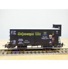 """PIKO 54218, wagon couvert à guérite  """" Schwartzer Abt """"   DRG     neuf    BO"""