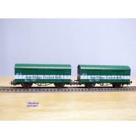 LILIPUT 229 03, wagons couverts pour  bière  JEVER PILSENER  DB  neuf   BO