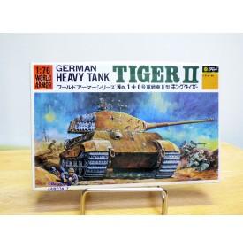 FUJIMI WA1,  Char lourd allemand  TIGER II   Neuf  BO  1/76