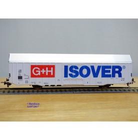 FLEISCHMANN 5378, wagon couvert  grande capacité  ISOVER  G+H   DB   neuf   BO