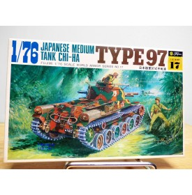 FUJIMI WA17,  Char moyen  japonais type 97  CHI-HA  Neuf BO 1/76