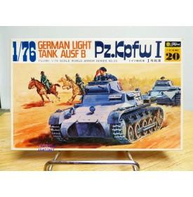 FUJIMI wa20,  char  léger  allemand   Pz.Kpfw 1    Neuf  BO  1/76