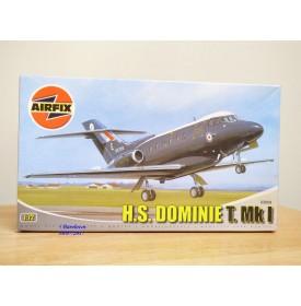 """AIRFIX 03009,  HAWKER SIDDELEY  H.S 125  """" Dominie T.Mk I """"    RAF  Neuf   BO   1/72"""